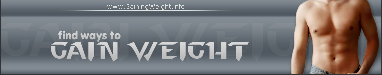 Picture of the Gaining Weight Website